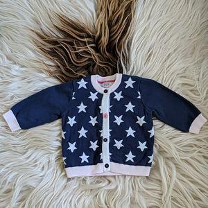 Mamas & Papas star sweater 0-3M